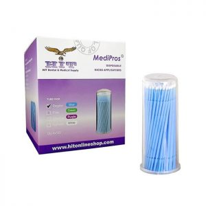 Microbrush in regular size and blue color.